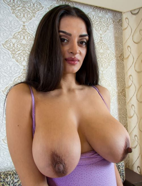Aunty big nipples