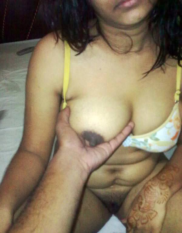 Wife ke sexy boobs
