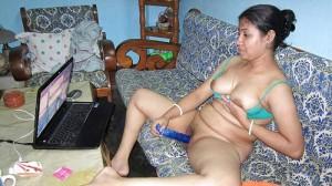 Bhabhi ne porn dekh kar chut khujai
