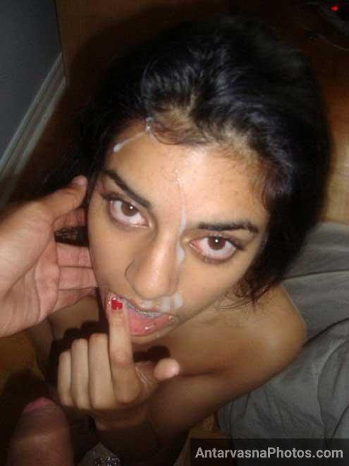 Chudai ke baad Indian sister ne apne bhai ki muth pee li