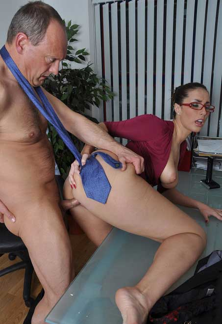 Hot Secretary Sex In Office
