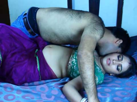 Bhabhi ne dewar ke lund ko kadak kar diya - Sexy bhabhi romance photos