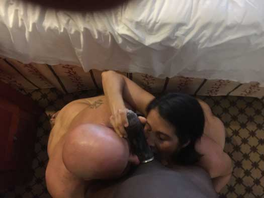 Husband aur uski sexy wife ne black lund share kiya