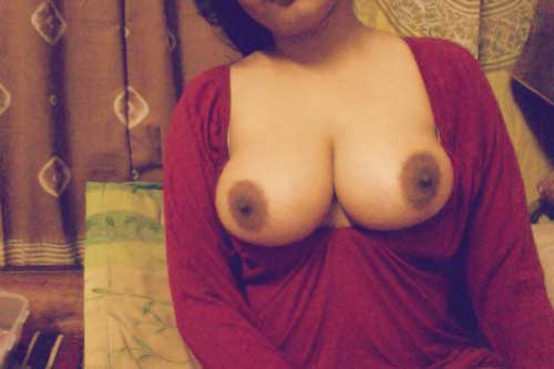Chudasi bhabhi ke bade Indian boobs ka photo