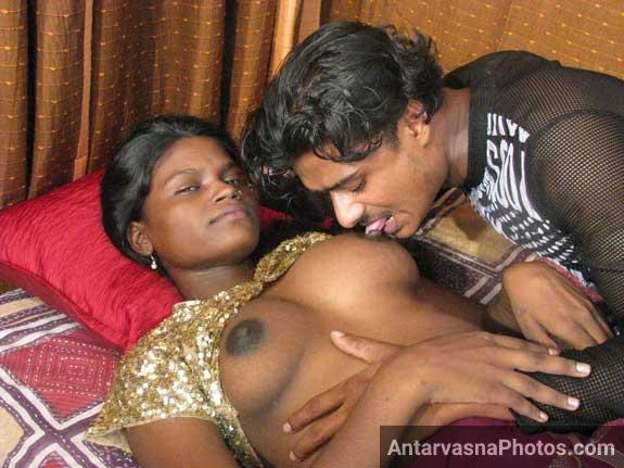 Shabnam ke desi boobs chuse Sundar ne