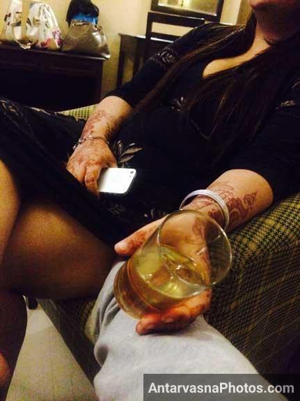 Busty Indian bhabhi ka sharab aur shabab