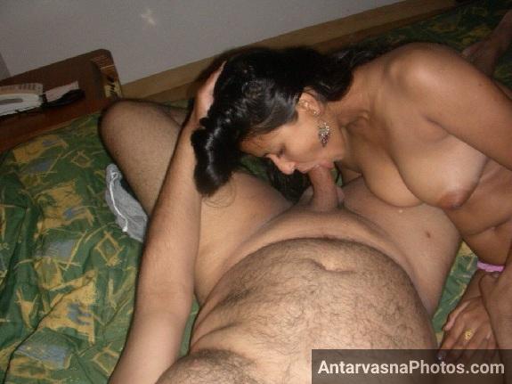 Hot mummy ne bade pyar se lode ko chus diya