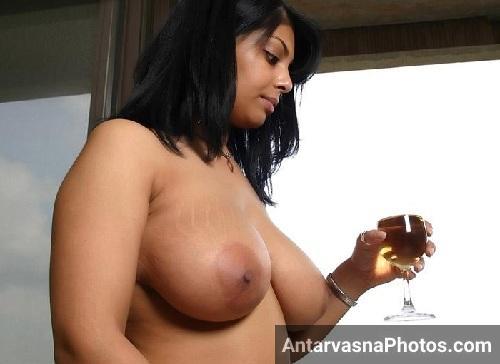 Sexy Indian bhabhi ko sharab pilai chudai se pahle