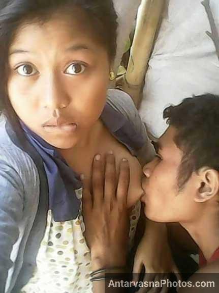 Desi girls boobs sucking