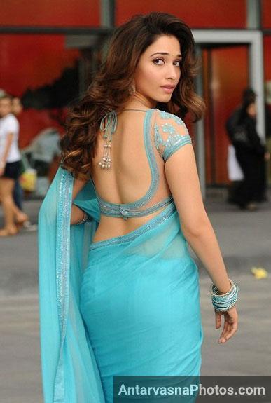 Tamanna hot ass pics - She looks damn hot in saree