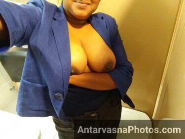 Office ki slut aunty ke big desi boobs pics