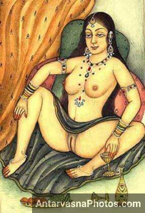 Rani sahiba ki clean shaved chut - Kamasutra pics