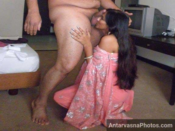 Indian blowjob apne Chacha ko laga rahi he