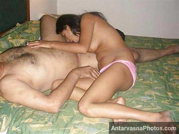nude babe pahli shift me blowjob de rahi he