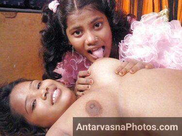 Indian teen lesbian babes masti kar rahi he