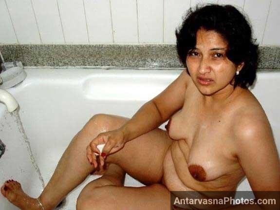 Young indian couple homemade