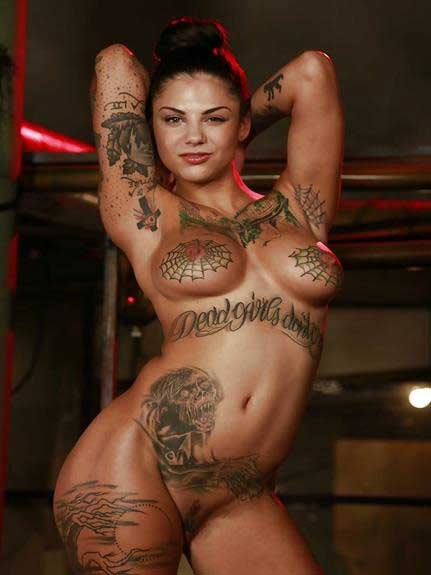 hot tattoo babe ka mast style