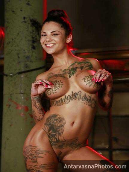 tattoo wala badan aur big natural boobs