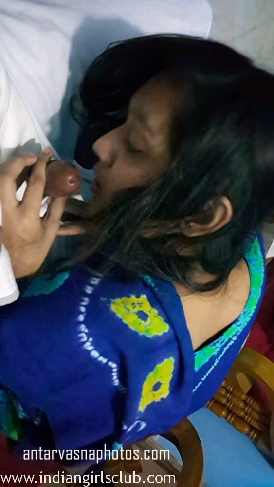 Bengali teen giving blowjob