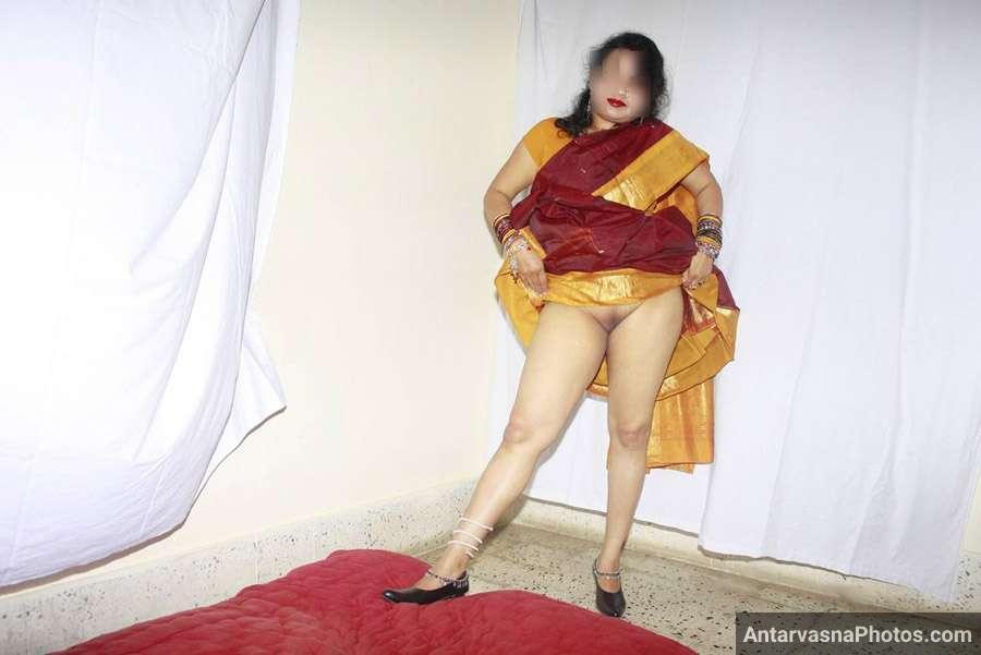 saree wali aunty nude indian sexy photo